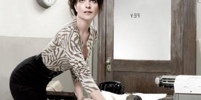 """En """"Una noche fuera de serie"""" también mostró su lado """"sexy"""". Foto:vía Vanity Fair"""