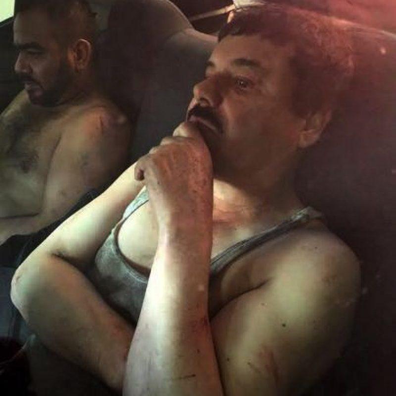 A pesar de que ella niega tener nexos con el líder del cártel de Sinaloa los investigadores aseguran que es verdad. Foto:AFP