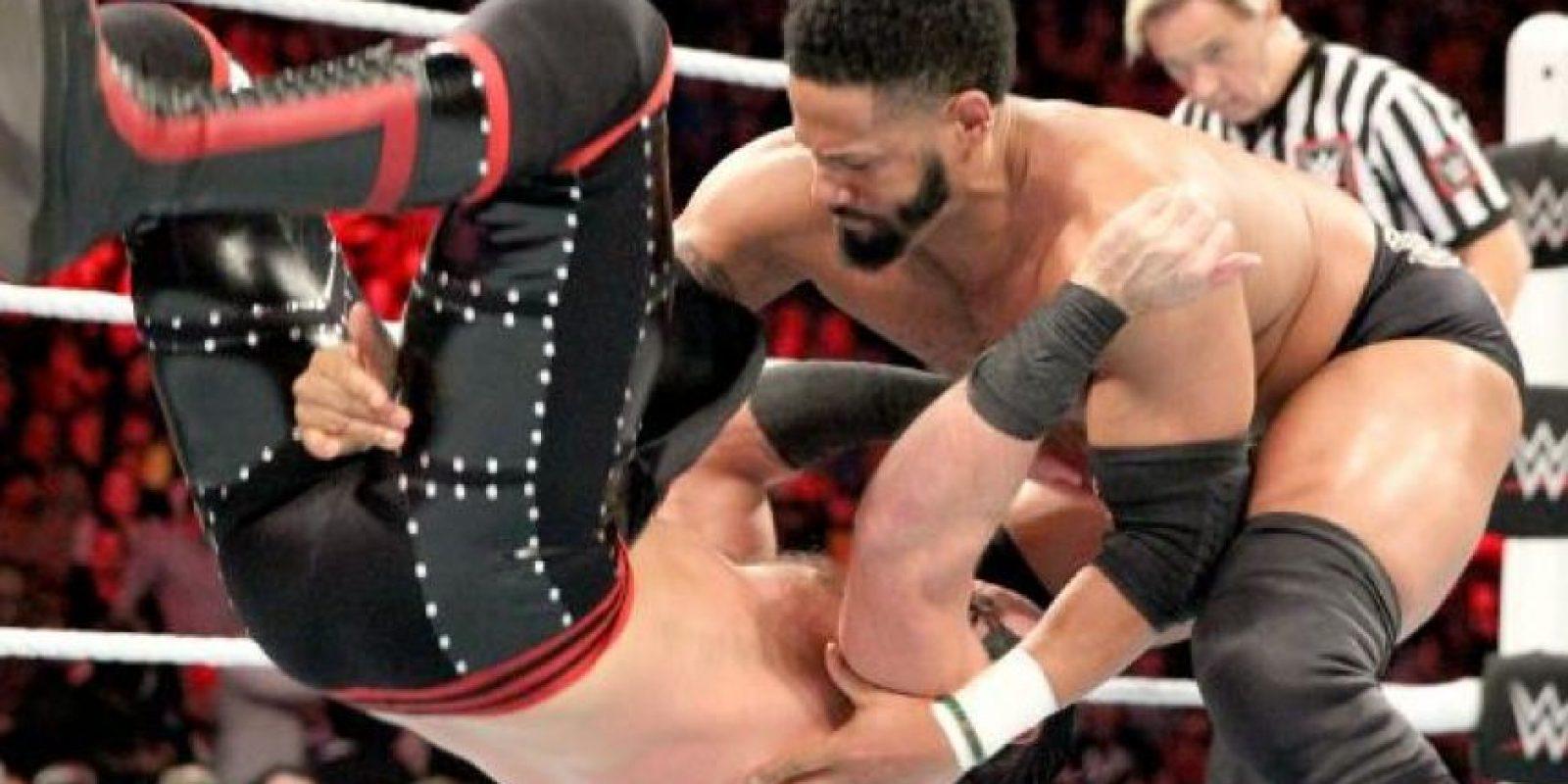 Y la pareja de Darren Young Foto:WWE