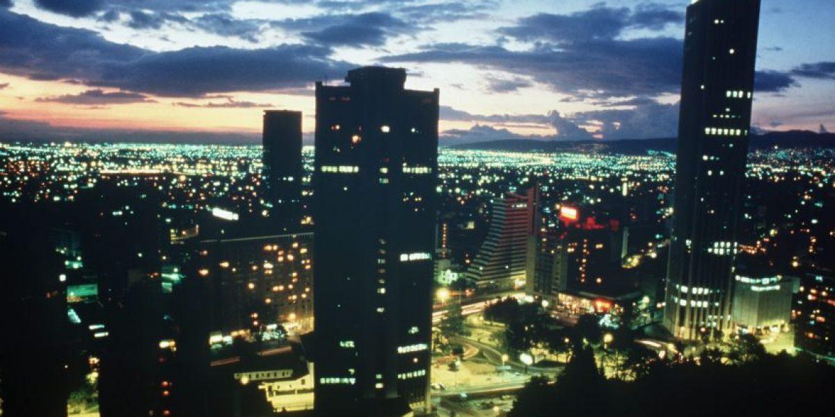 Las luces extrañas que se vieron en el cielo de Bogotá