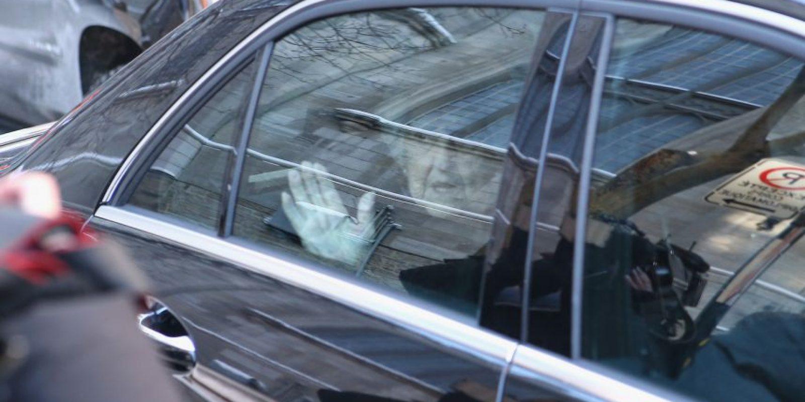 También asistió la mamá de Celine Foto:Getty Images