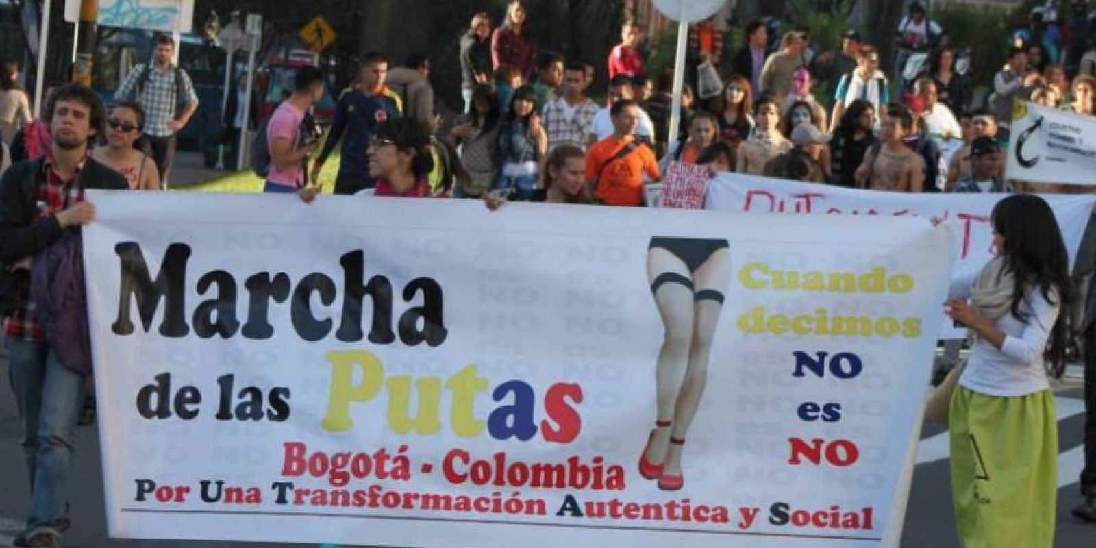 Foto:Archivo de marcha de la putas
