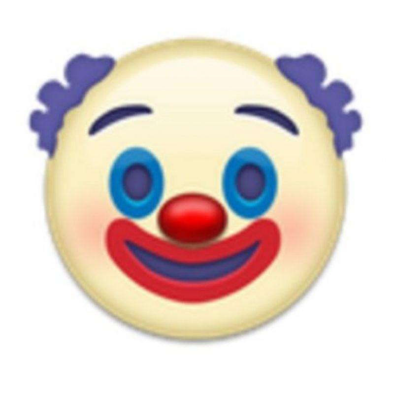 Cabeza de payaso. Foto:vía emojipedia.org
