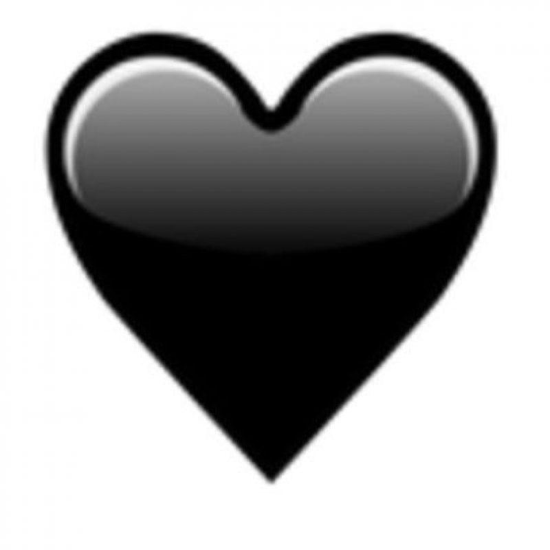 Corazón negro. Foto:vía emojipedia.org