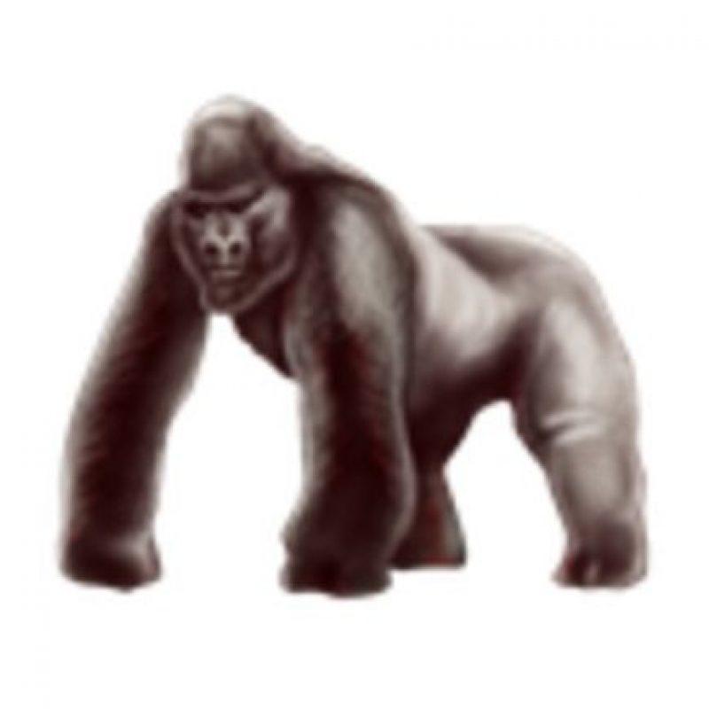 Gorila. Foto:vía emojipedia.org