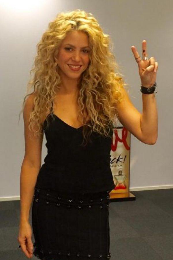 La cantante colombiana es la mujer del culé Gerard Piqué Foto:Vía instagram.com/shakira