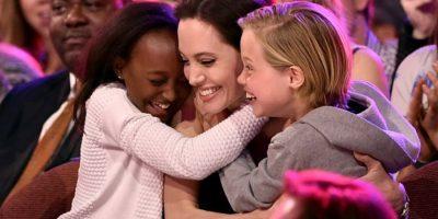 Así se le vio el año pasado, con sus hijas. Foto:vía Getty Images