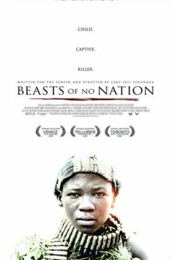 """5- """"Beasts of no Nation"""". Foto:vía Netflix"""