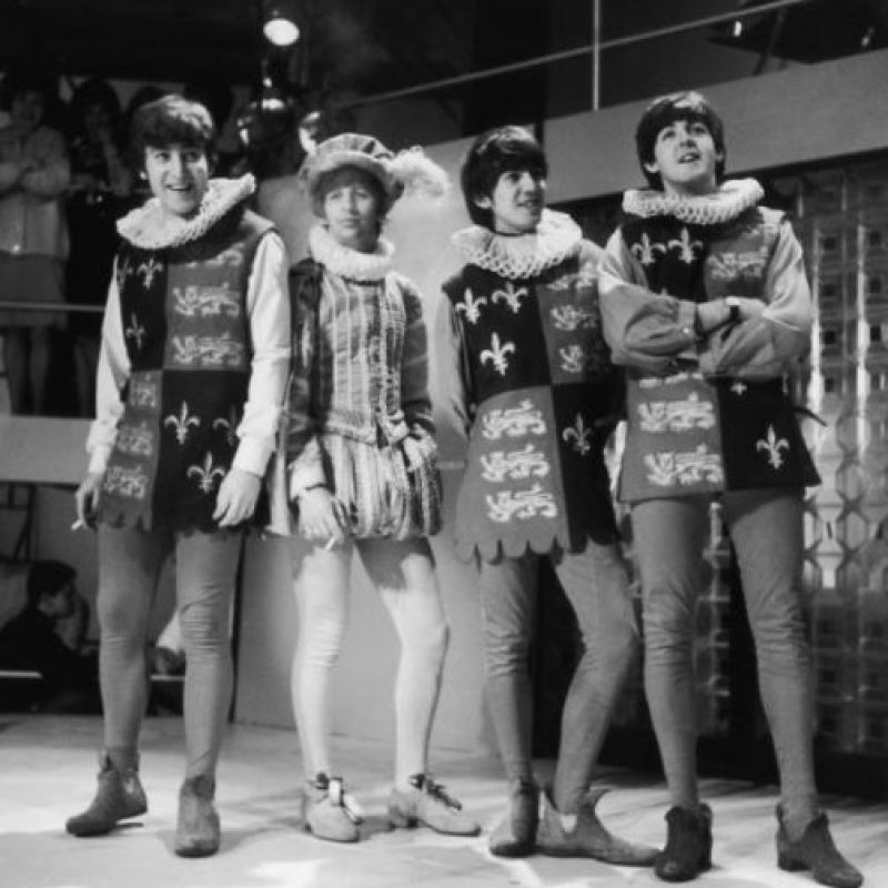 5. Según el productor George Martin, a John Lennon no le gustaba su voz. Foto:Getty Images