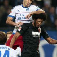 El hombre del Hamburgo se caracteriza por su rudeza para jugar. Foto:Getty Images
