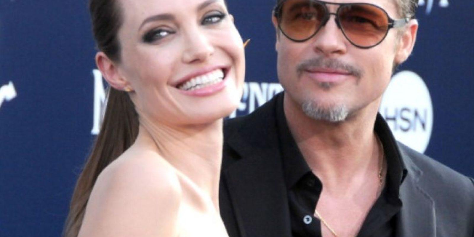 """Pues en ese entonces Aniston representó el papel de mujer """"abandonada"""" por alguien más """"sexy"""", como en ese momento lo era Jolie. Foto:vía Getty Images"""