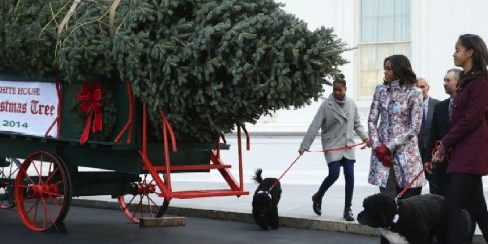 La familia Obama Foto:Getty Images