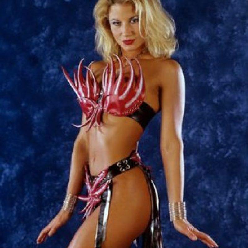 Sunny estuvo en la compañía de lucha libre de Vince McMahon entre 1995 y 1998. Luego volvería a los cuadriláteros en 2007, 2009 y 2011 Foto:WWE