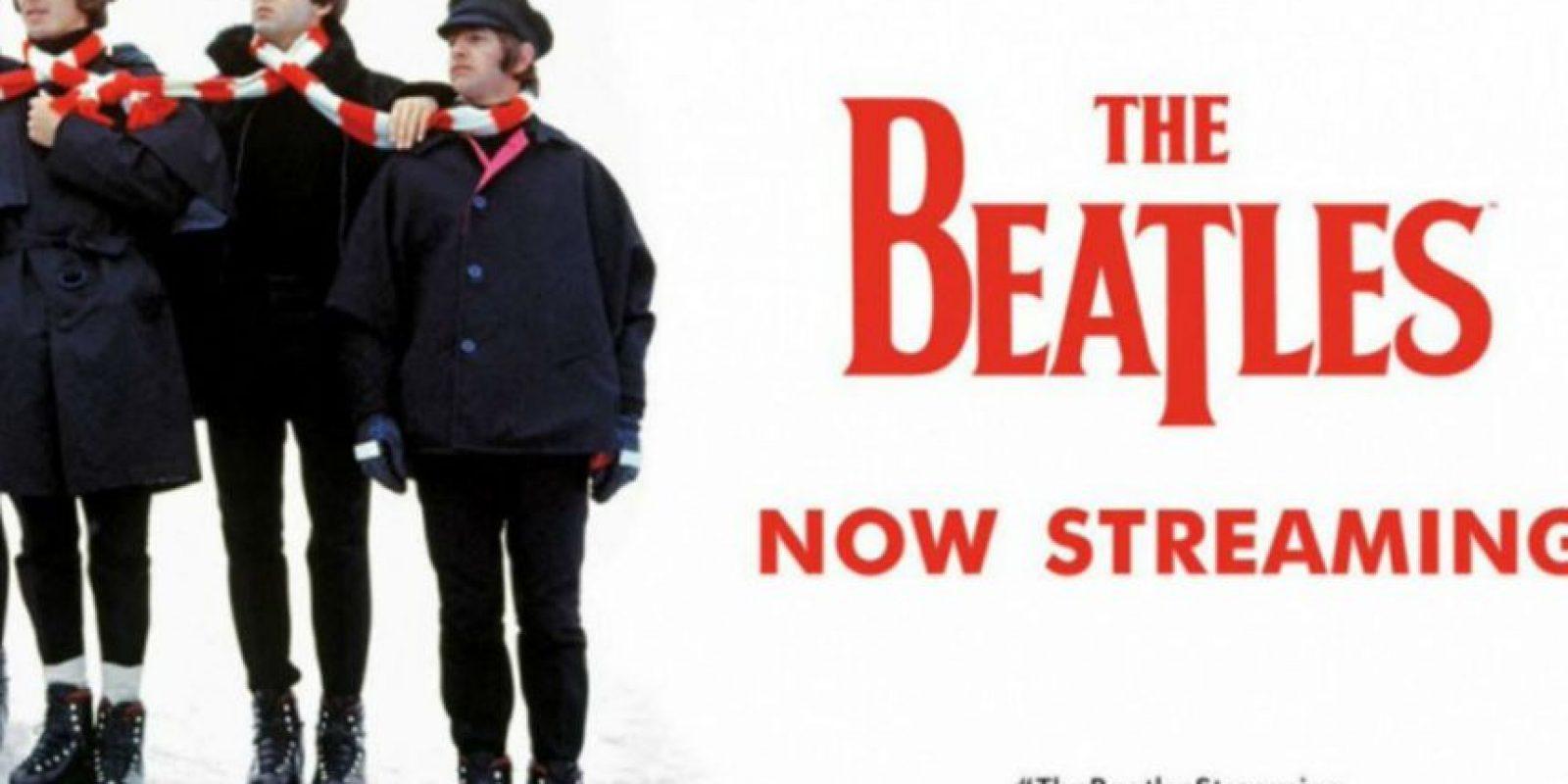 The Beatles ya tiene más de 250 millones de reproducciones en Spotify. Foto:Spotify
