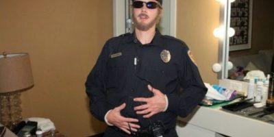 """2. Cuando se disfrazó de guardia de seguridad en un sketch para el programa de Ellen DeGeneres Foto:""""Ellen DeGeneres Show"""""""