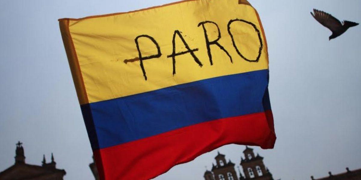Fotos: Así transcurrió el paro nacional en Bogotá