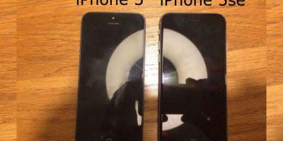 Esta sería la primera foto del iPhone 5se. Foto:Vía onemorething.nl