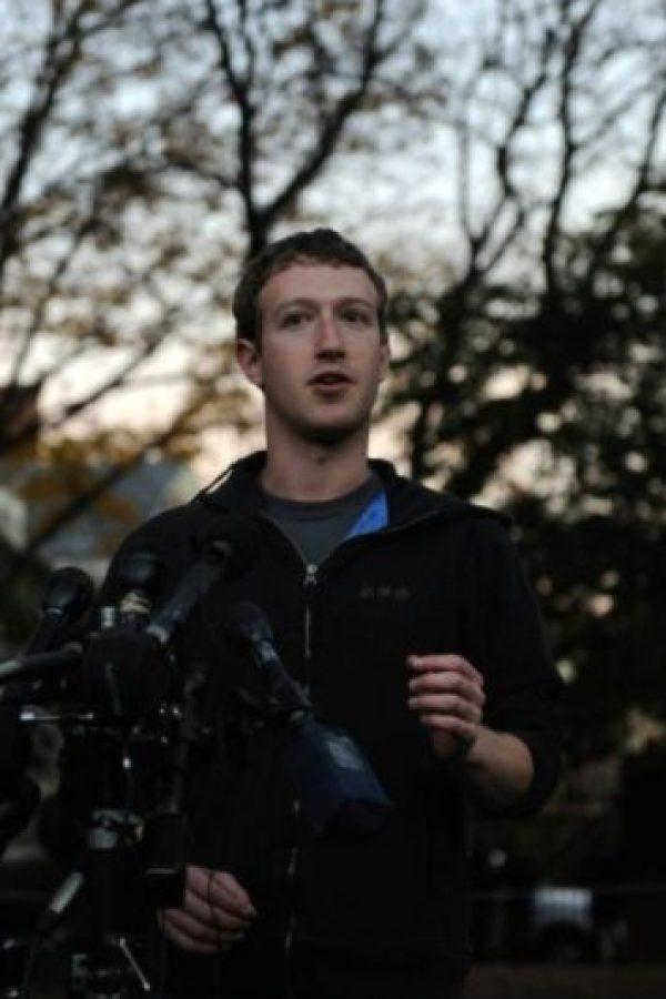 Durante una conferencia de prensa en noviembre de 2011. Foto:Getty Images