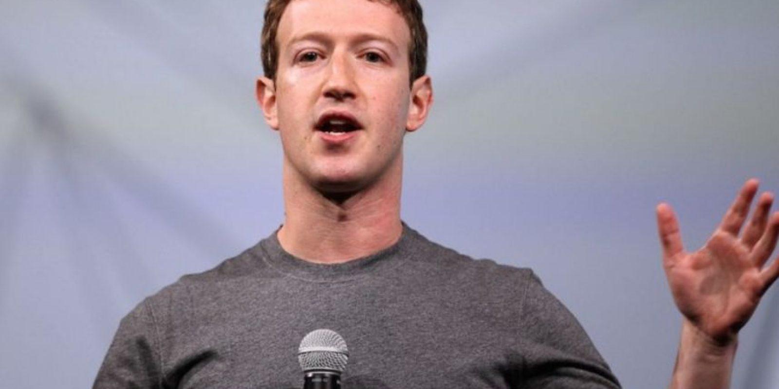 Zuckerberg en la conferencia para desarrolladores F8. Foto:Getty Images