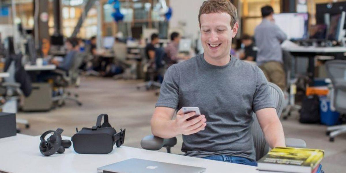 Foto: Mark Zuckerberg muestra su insólito guardarropa
