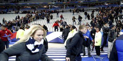 A sus 20 años, fue el menor de los atacantes. Se inmoló afuera del Estadio de Francia Foto:AP