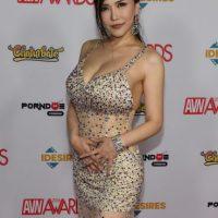 Así lucieron las estrellas de cine para adultos en la alfombra roja de los AVN Foto:Getty Images