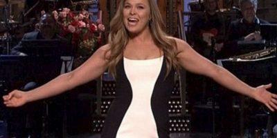 """Ronda Rousey apareció en el programa """"Saturday Night Live"""" Foto:Twitter"""