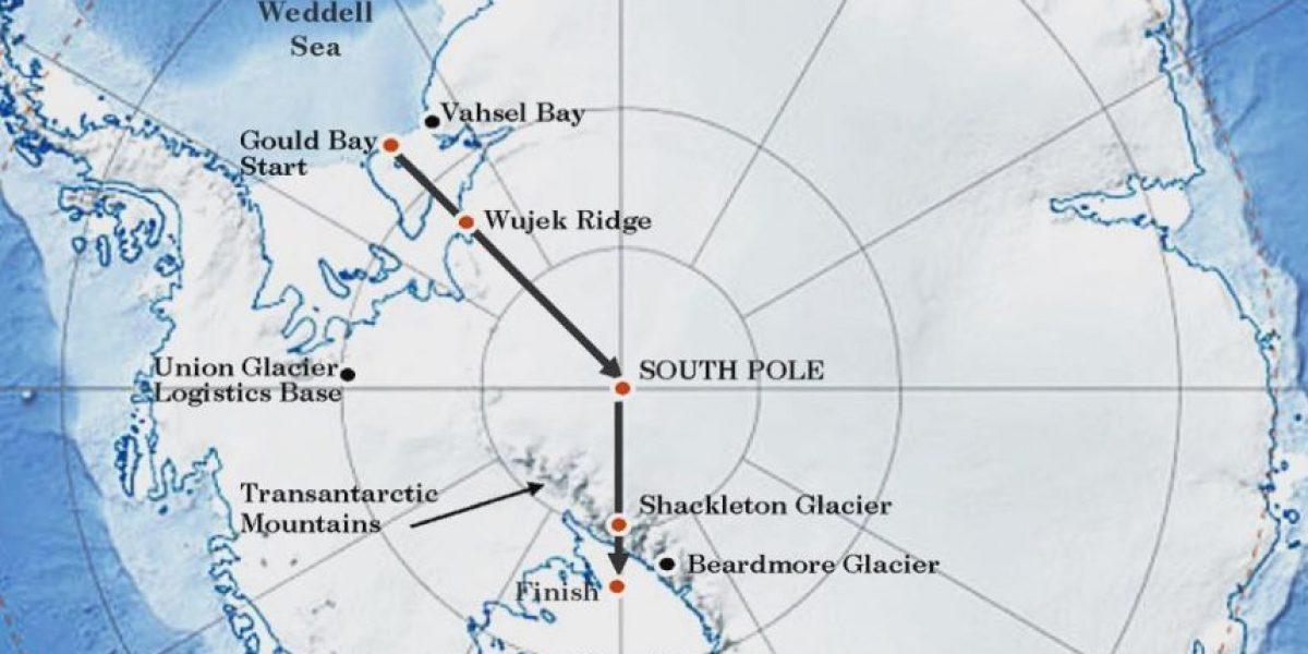 Las imágenes que Henry Worsley compartió de su fatal viaje a la Antártida