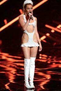 Este vestido blanco, ¿cómo olvidarlo? Foto:Getty Images
