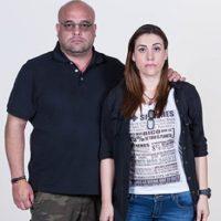 Carlos Escobar junto a su hermana, con quien participa en el reality. Foto:Foto Caracol Televisión