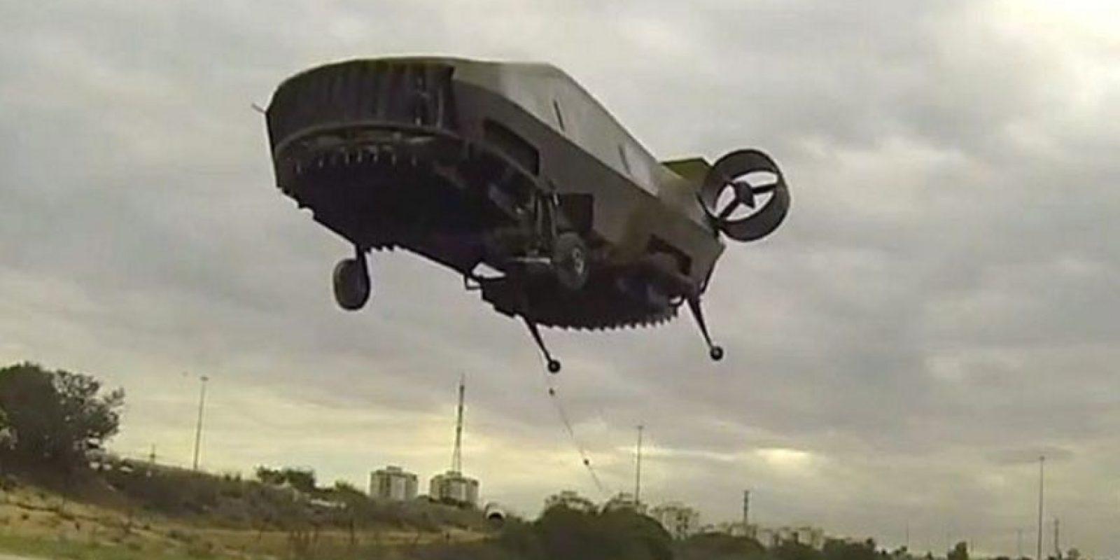 """""""AirMule"""" es capaz de transportar a dos personas. Foto:Vía tactical-robotics.com"""