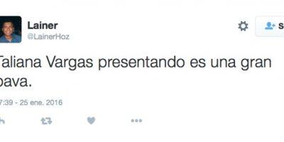Foto:Captura de pantalla de Twitter