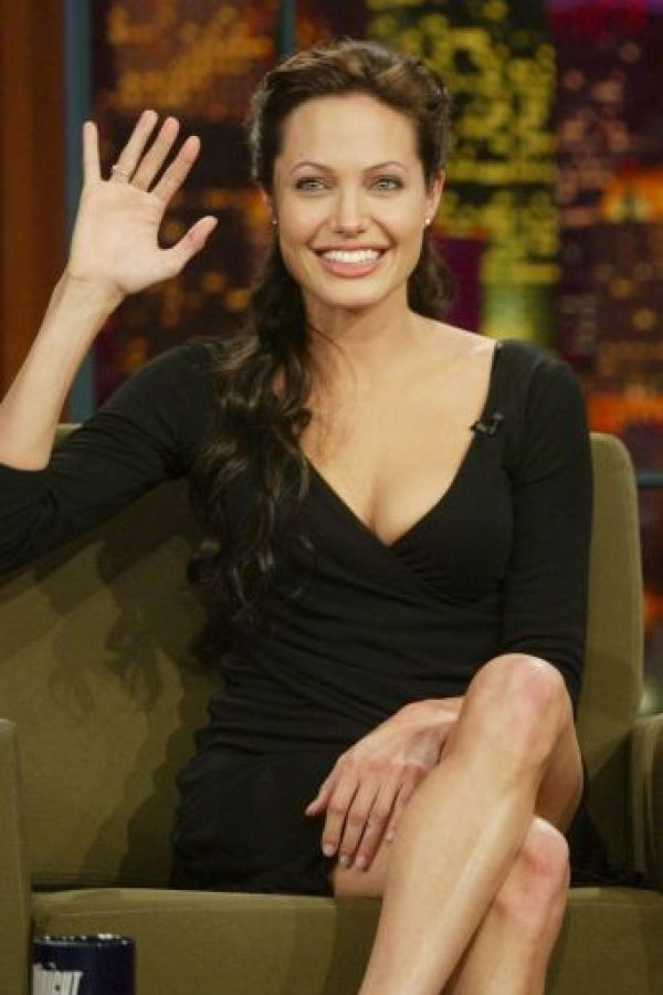 Angelina Jolie lucía así en 2001 Foto:Getty Images
