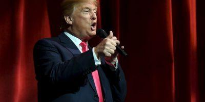 Haciendo a un lado la candidatura de otros políticos del Partido Republicano. Foto:Getty Images