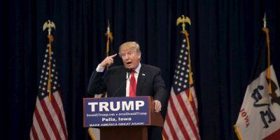 El 16 de junio de 2015, el empresario Donald Trump decidió lanzar su carrera política por la presidencia estadounidense. Foto:Getty Images