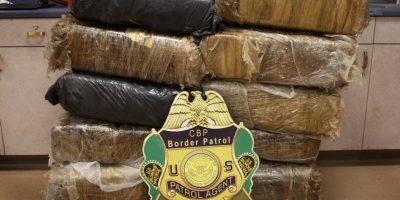 Incautan en suroeste colombiano cerca de una tonelada de marihuana