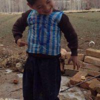 Su nombre es Homayoon y vive en Ghazni, provincia de Afganistán Foto:Twitter