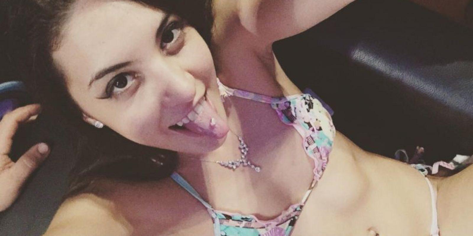 Miren las mejores imágenes de sus redes sociales: Foto:Vía instagram.com/abril_carolina_