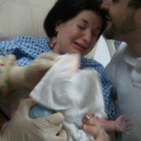 Lo compartió un usuario de Reddit luego de que su esposa diera a luz. Foto:Vía Reddit.com