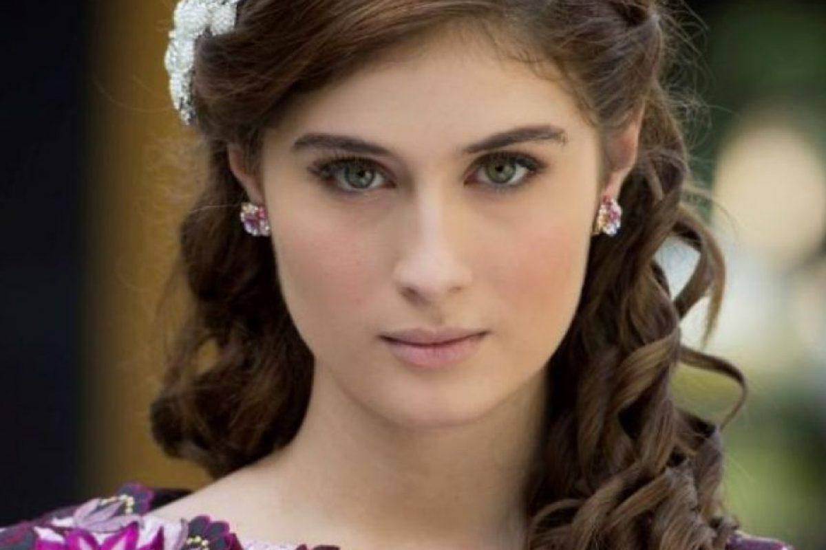 Nerea Camacho le da vida a Victoria, la protagonista de 'La Esclava Blanca' Foto:Cortesía Prensa Caracol Televisión