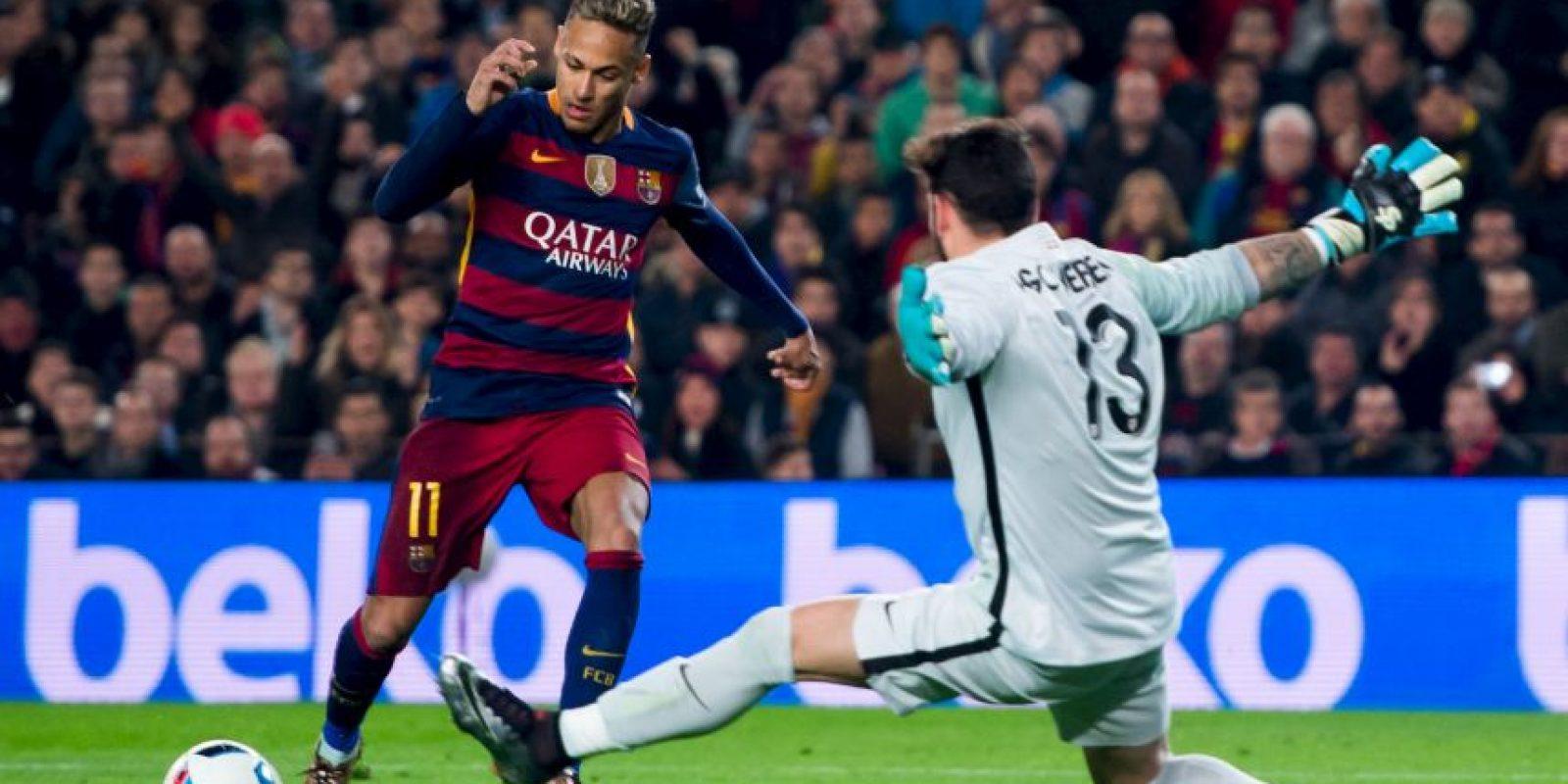 Neymar se llevó gran parte de los reflectores del partido Foto:Getty Images