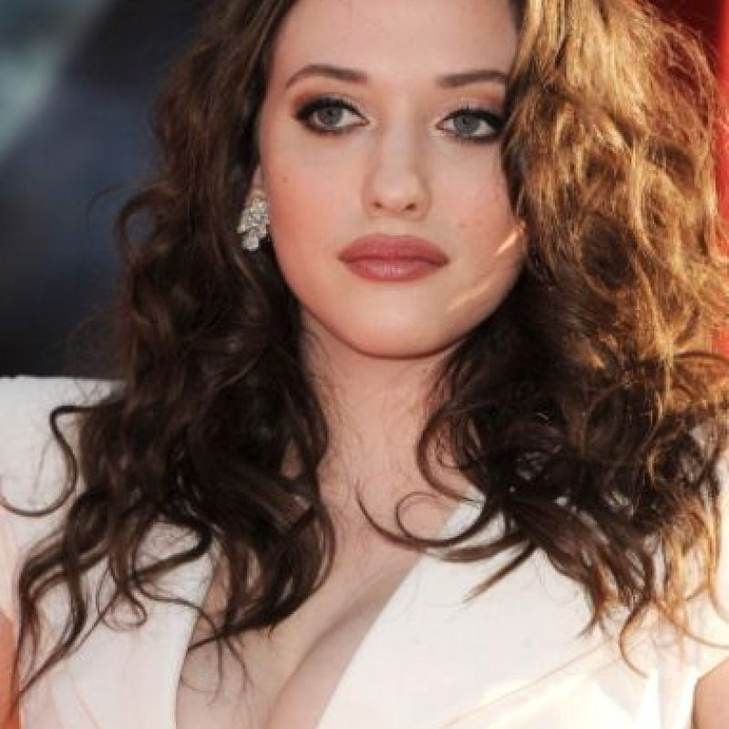 "Kat Dennings es famosa por ""2 broke Girls"". Foto: vía Getty Images"