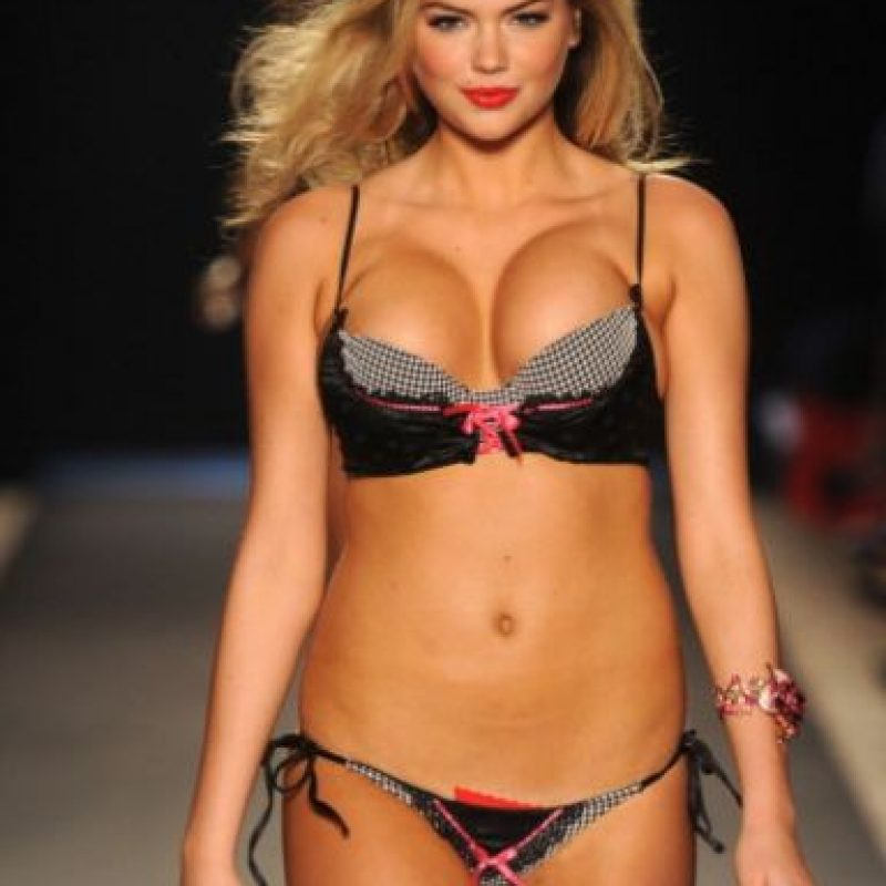 La modelo Kate Upton. Foto: vía Getty Images