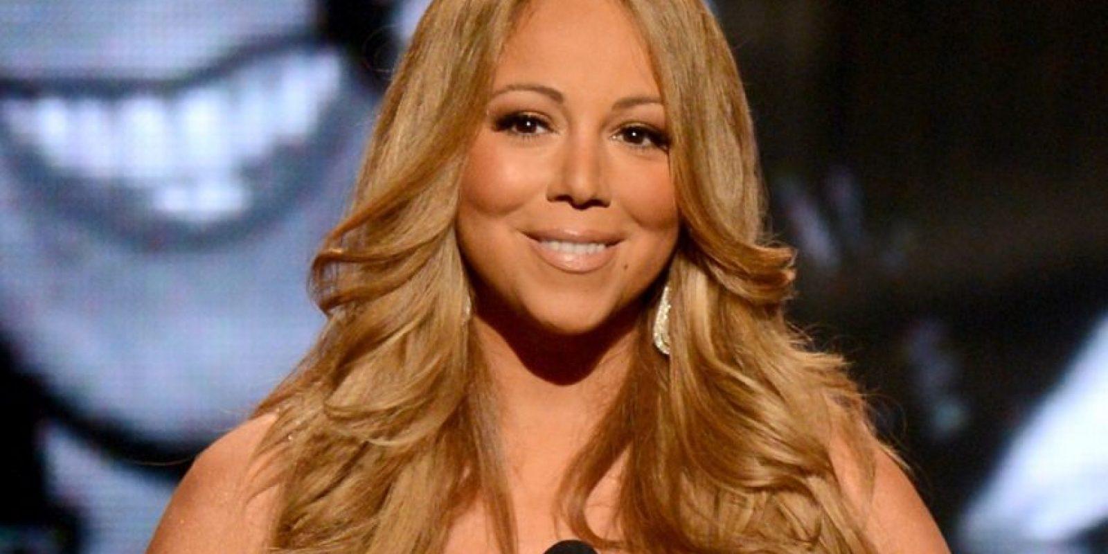 """""""Cada vez que veo televisión y veo a esos niños de África morir de hambre, quiero llorar. Vaya, quisiera ser así de flaca, pero no mostrando huesos y todo"""". Mariah Carey. Foto:vía Getty Images"""