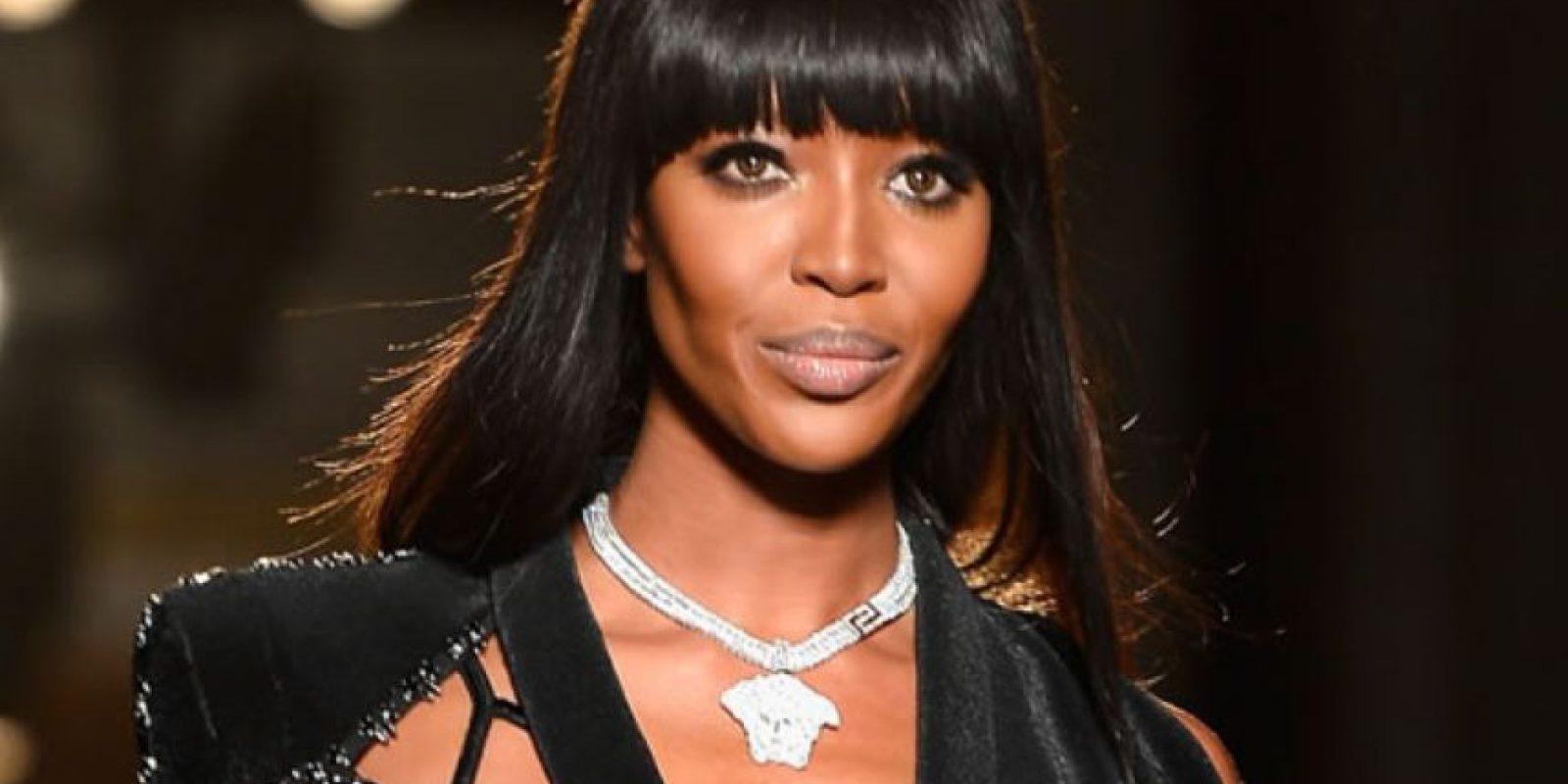 """""""Con el modelaje hago mucho por la gente negra"""". Naomi Campbell. Foto:vía Getty Images"""