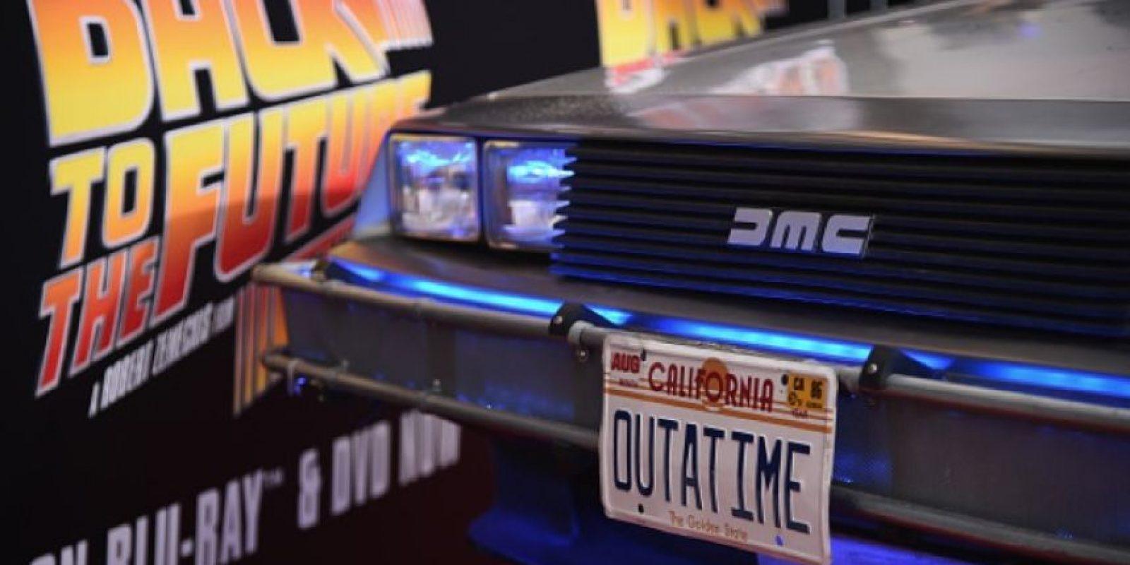 """El vehículo es emblemático de la saga cinematográfica """"Volver al Futuro"""". Foto:Getty Images"""