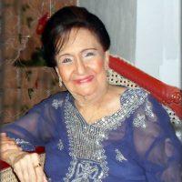 Esther Forero en su residencia. Foto:Teresa González