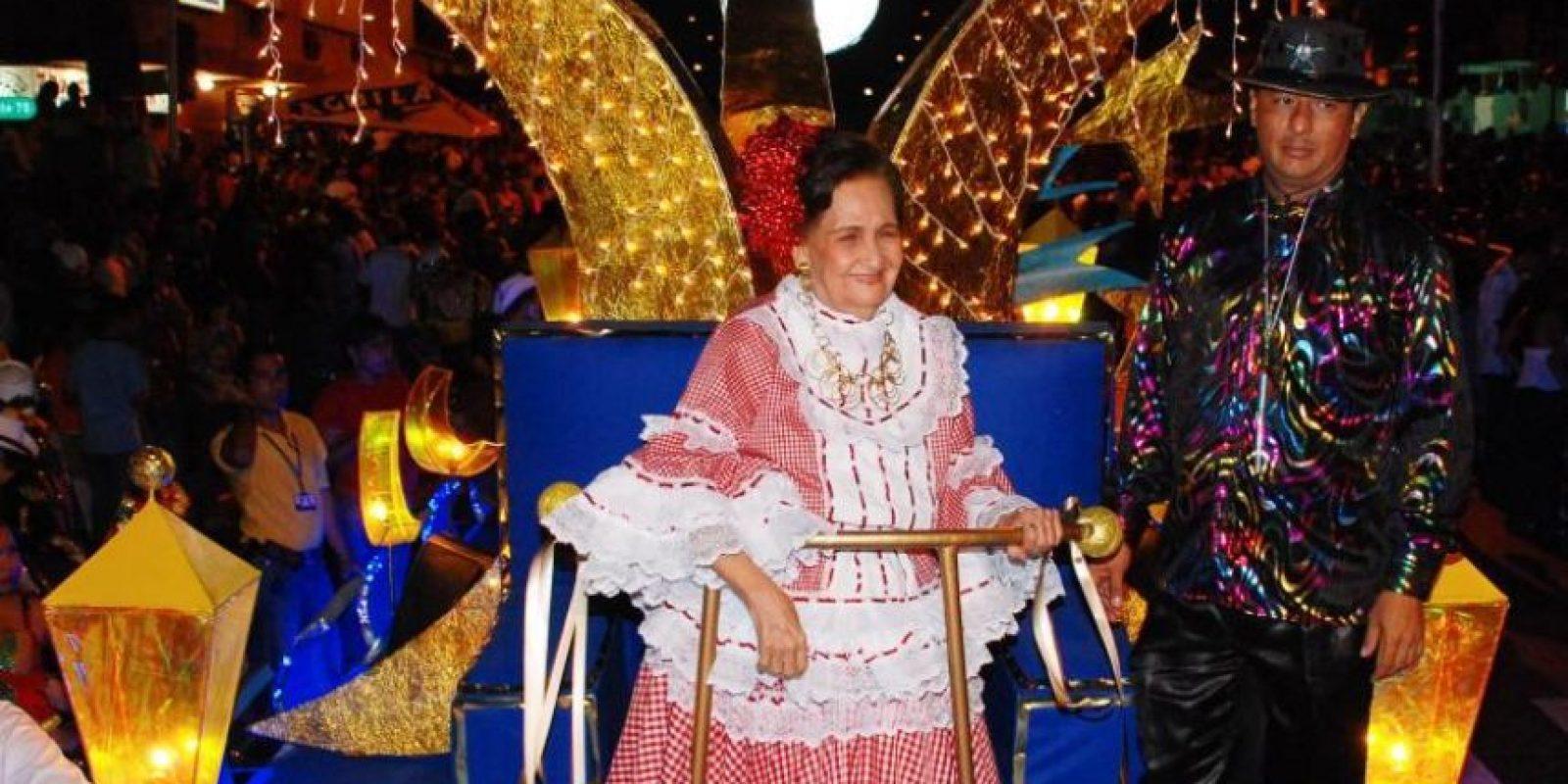Esthercita en la Guacherna de 2005. Foto:Carnaval S.A.