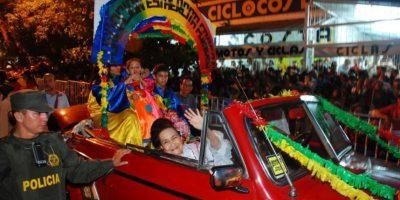 La cantante y compositora Esther Forero en la Guacherna 2009. Foto:Carnaval S.A.