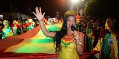 Desfile de Guacherna Foto:Secretaría de Cultura